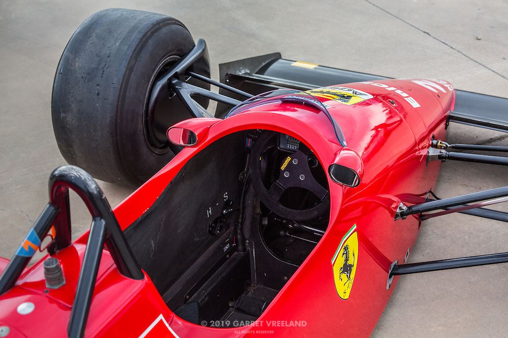 1988 Ferrari F1 Cockpit Garret Vreeland Photography