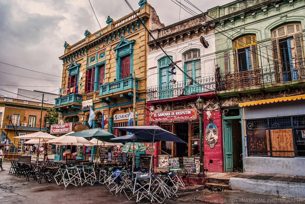 Restaurants in La Boca