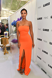 Maya Jama at the Glamour Women of The Year Awards 2017 in association with Next held in Berkeley Square Gardens, London England. 6 June 2017.