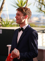 Xavier Dolan winner of the Jury Prize  for the film Mommy at the Palme d'Or winners photo call at the 67th Cannes Film Festival, Saturday 24th May 2014, Cannes, France.