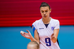 24-08-2017 NED: World Qualifications Bulgaria - Greece, Rotterdam<br /> Evangelia Merteki #9 of Greece