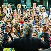 Antonio TAJANI - EP President meets with students Valle Camonica progetto ' Ehi Mondo, ci sono anche io '