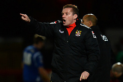 Stevenage's Manager Graham Westley - Photo mandatory by-line: Mitchell Gunn/JMP - Tel: Mobile: 07966 386802 22/02/2014 - SPORT - FOOTBALL - Broadhall Way - Stevenage - Stevenage v Crewe Alexandra - League One