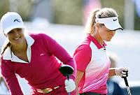 Golf , 6. september 2014, Suzann Pettersen med Caroline Martens <br /> LPGA spiller