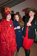 MOLLY PARKIN; CARSON PARKIN; SOPHIE PARKIN, Opening of Bailey's Stardust - Exhibition - National Portrait Gallery London. 3 February 2014