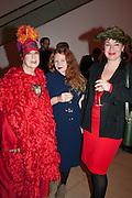 MOLLY PARKIN; CARSON PARKIN; SOPHIE PARKIN, Opening of Bailey's Stardust - Exhibition - National Portrait Gallery London. 3 February 2014