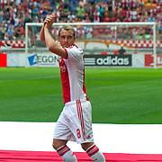Amsterdam, 25-07-2013. Zo'n 20.000 fans waren naar de Amsterdam Arena gekomen voor de Open dag van Ajax. De spelers werden gepresenteerd  en trainden in de Arena. Foto: Christian Eriksen.