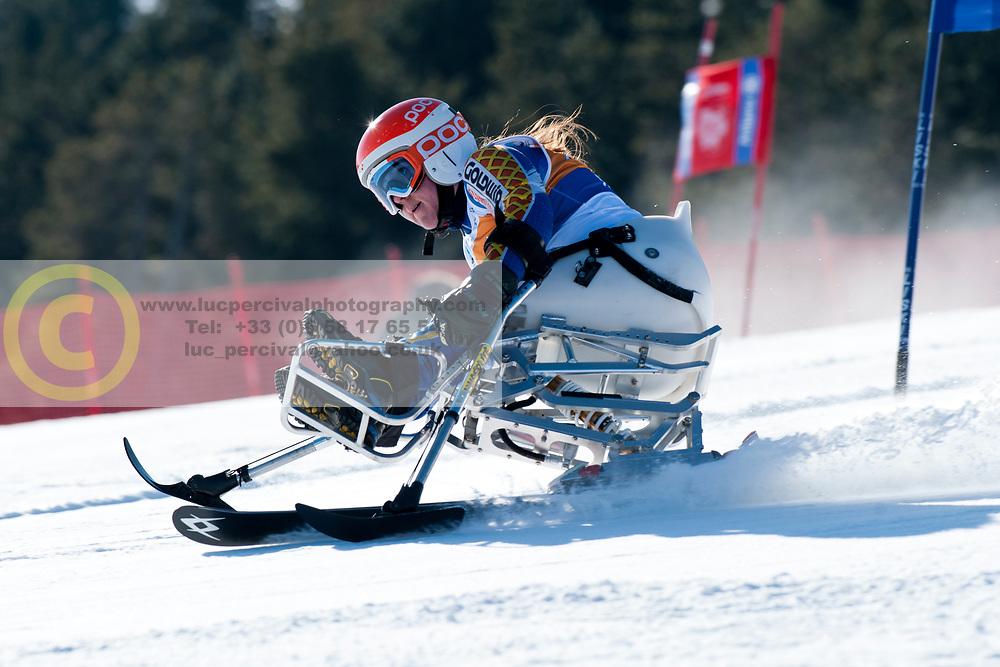 OTTOSON EIDE Linnea, SWE, Giant Slalom, 2013 IPC Alpine Skiing World Championships, La Molina, Spain