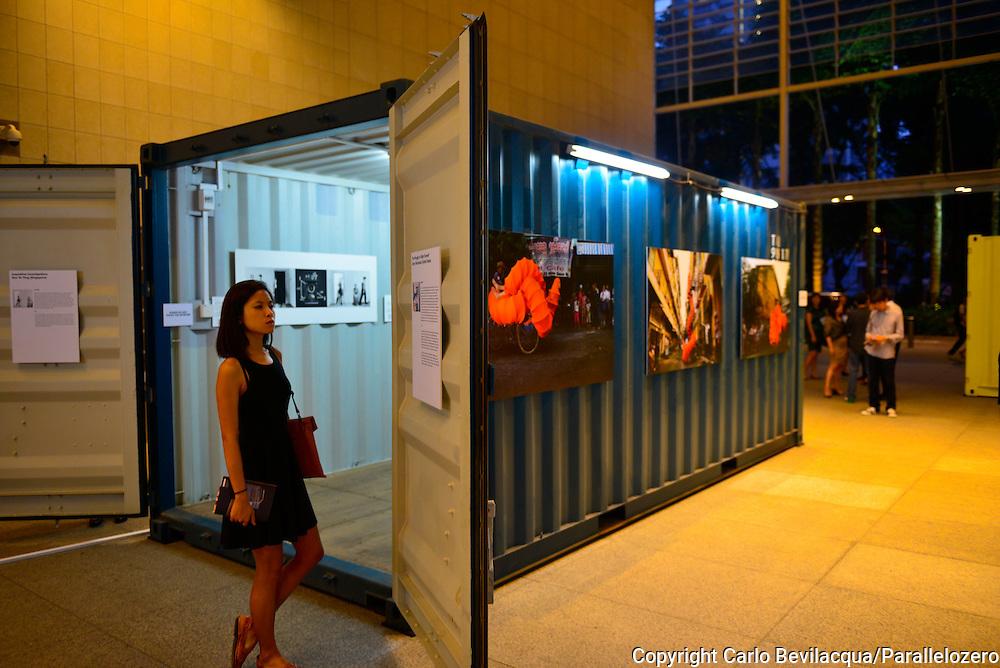 Singapore - Show at the Singapore Photo Festival