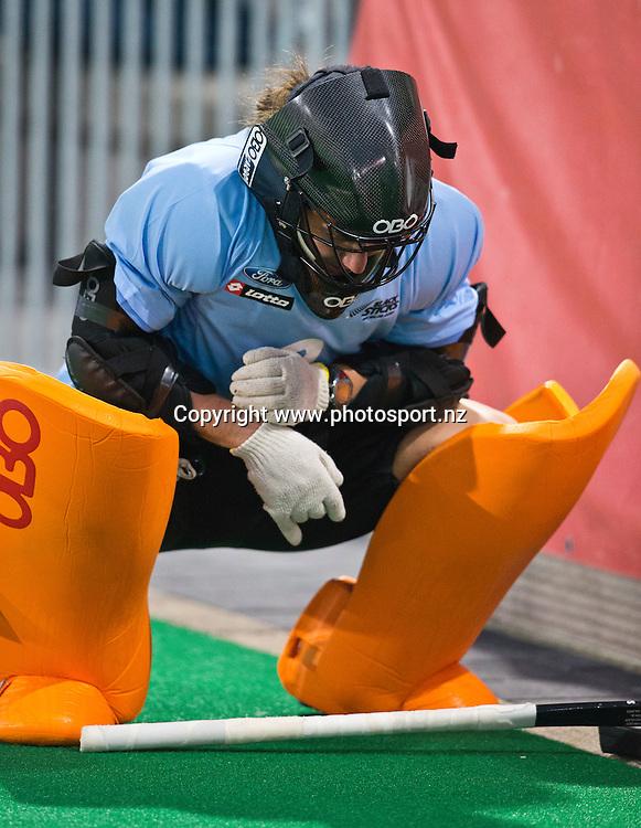 02/07/2015<br /> HWL Semi Final Antwerp Belgium 2015<br /> New Zealand v Korea Women<br /> Sally Rutherford<br /> Photo: Grant Treeby