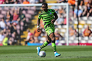 Forest Green Rovers Udoka Godwin-Malife(22) during the EFL Sky Bet League 2 match between Bradford City and Forest Green Rovers at the Utilita Energy Stadium, Bradford, England on 24 August 2019.
