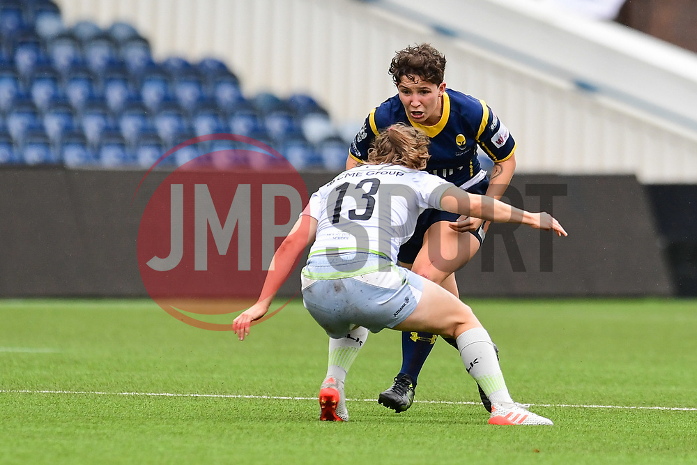 Charlie Wilcock of Worcester Valkyries - Mandatory by-line: Craig Thomas/JMP - 30/09/2017 - RUGBY - Sixways Stadium - Worcester, England - Worcester Valkyries v Saracens Women - Tyrrells Premier 15s