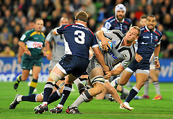 James Broadhurst (HUR).Melbourne Rebels v The Hurricanes.Rugby Union - 2011 Super Rugby.AAMI Park, Melbourne VIC Australia.Friday, 25 March 2011.© Sport the library / Jeff Crow