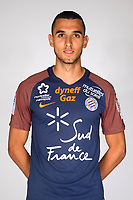 Ellyes Skhiri during photoshooting of Montpellier Herault  for new season 2017/2018 on September 3, 2017 in Montpellier<br /> Photo : Mhsc / Icon Sport
