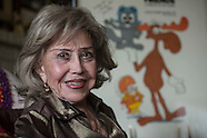 Voice actress June Foray