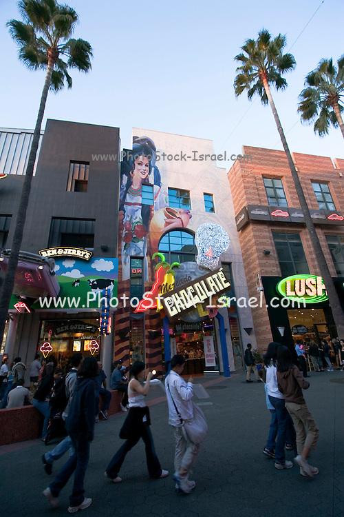 USA, Los Angeles California, Universal Studios Citywalk