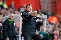Bristol City Manager Steve Cotterill looks animated - Photo mandatory by-line: Rogan Thomson/JMP - 07966 386802 - 25/01/2015 - SPORT - FOOTBALL - Bristol, England - Ashton Gate Stadium - Bristol City v West Ham United - FA Cup Fourth Round Proper.