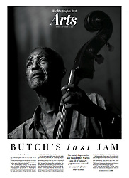 Jazz legend Edward 'Butch' Warren last performance in Washington, D.C. (Astrid Riecken For The Washington Post)