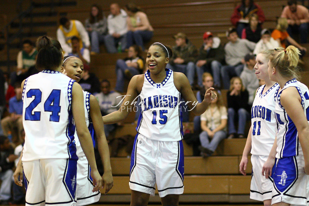 MCHS Varsity Girls Basketball.vs Manassas Park.2/1/2008..