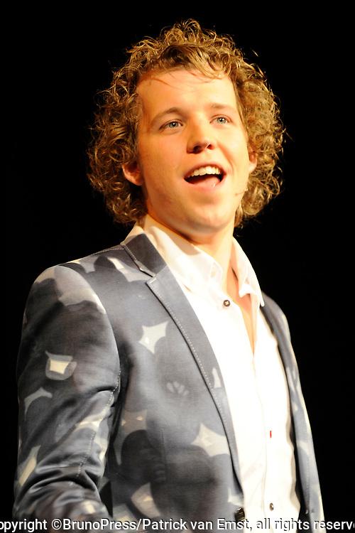 Perspresentatie Volendam, de Musical in de Josef, Volendam.<br /> <br /> Op de foto:<br /> <br /> <br />  Rick Sessink