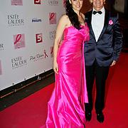 NLD/Amsterdam/20100929 - Pink Ribbon Gala 2010, Miryanna van Reeden en Addy van den Krommenacker
