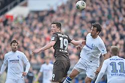 Football: Germany, 2. Bundesliga, 15.02.2014<br />Michael Gregoritsch (FC St. Pauli, #19)<br />?? pixathlon