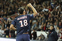 Fotball<br /> Frankrike<br /> Foto: Dppi/Digitalsport<br /> NORWAY ONLY<br /> <br /> FOOTBALL - FRENCH CHAMPIONSHIP 2012/2013 - L1 - PARIS SAINT GERMAIN v TOULOUSE FC - 14/09/2012 - <br /> <br /> Joy ZLATAN IBRAHIMOVIC (PARIS SG)