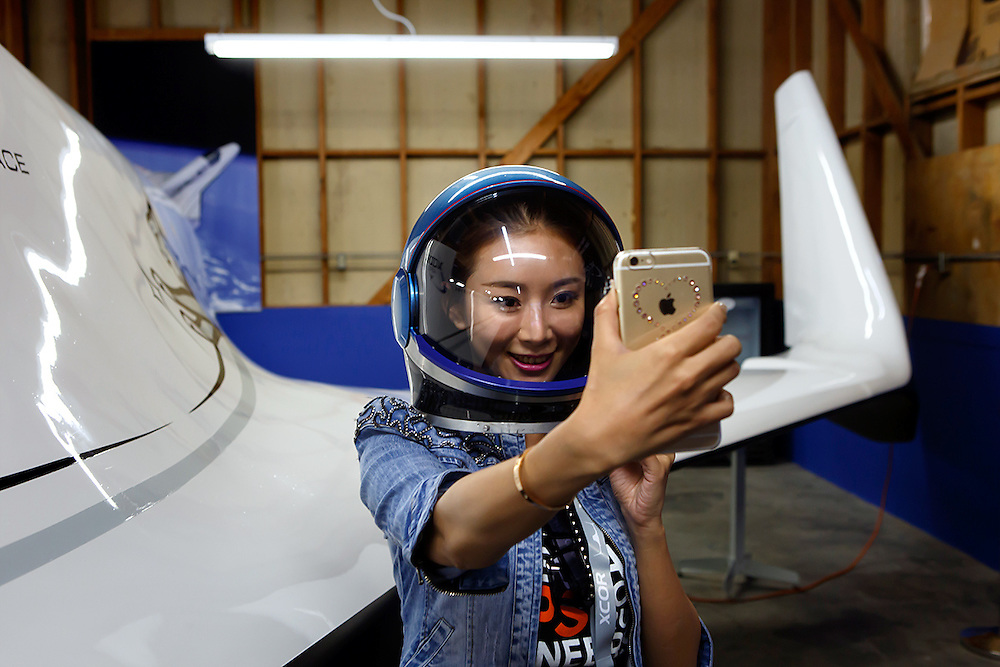 At the Mojave air and space port XCOR aerospace is opening their doors for a visit of future astronauts and business partners.<br />