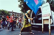 Reclaim the streets, London 1998