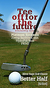 Tearsheet of ad for Mohave community college  fundraising golf tournament in Apple Valley, Utah at Kokopelli Golf Course.