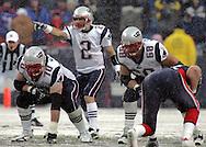 Boston Sports Legend, Doug Flutie running the offense, New England Patriots @ Buffalo Bills, 11 Dec 05, 1pm, Ralph Wilson Stadium, Orchard Park, NY
