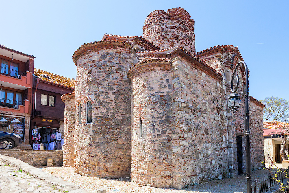The city of Old Nessebar in April