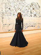 Stephanie Seymour. Azzadine Alaia installation. 575 Broadway. NY. 22 September 2000. © Copyright Photograph by Dafydd Jones 66 Stockwell Park Rd. London SW9 0DA Tel 020 7733 0108 www.dafjones.com