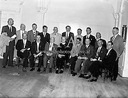 Presentation of Safety First Awards<br /> 11.07.1961
