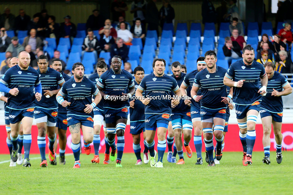 Equipe Castres - Brice Mach - 25.04.2015 - Castres / Clermont - 23eme journee de Top 14<br />