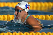 Solene Gallego (FRA) competes on Women's 100 m Breaststroke d during the French Open 2018, at Aquatic Center Odyssée in Chartres, France on July 7th to 8th, 2018 - Photo Stephane Kempinaire / KMSP / ProSportsImages / DPPI