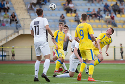 during football match between NK Domzale and NK Ankaran Hrvatini in Round #30 of Prva liga Telekom Slovenije 2017/18, on May 2nd, 2018 in Sports Park Domzale, Domzale, Slovenia. Photo by Urban Urbanc / Sportida