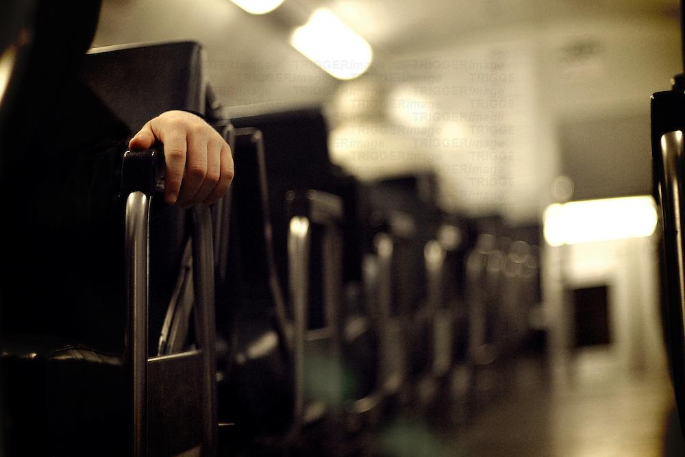 Seats on train