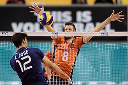 08-06-2014 NED: WLV Nederland - Portugal, Almere<br /> Joao Jose, Bas van Bemmelen