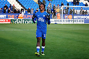 Peterborough midfielder Ivan Toney (17) claps the fans after the EFL Sky Bet League 1 match between Peterborough United and Burton Albion at London Road, Peterborough, England on 4 May 2019.