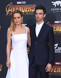 "World premiere of ""Avengers: Infinity War"" held at the El Capitan Theatre on April 23, 2018 in Hollywood, CA. © O'Connor/AFF-USA.com. 23 Apr 2018 Pictured: Brie Larson and Alex Greenwald. Photo credit: O'Connor/AFF-USA.com / MEGA TheMegaAgency.com +1 888 505 6342"
