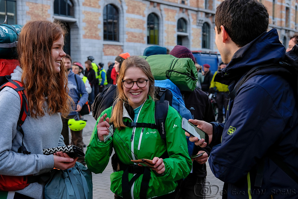 Climate Express 2017. Cycling from Brussels - Bonn in 3 days