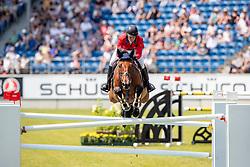 MADDEN Elizabeth (USA), Coach<br /> Aachen - CHIO 2018<br /> Preis von Nordrhein-Westfalen<br /> 20. Juli 2018<br /> © www.sportfotos-lafrentz.de/Stefan Lafrentz