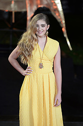 Willow Shields arrives for The Hunger Games: Catching Fire premiere, Leicester Square, London, United Kingdom. Monday, 11th November 2013. Picture by Andrew Parsons / i-Images