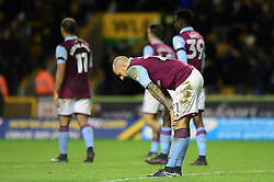 Alan Hutton of Aston Villa cuts a dejected figure at the end of the game  - Mandatory by-line: Dougie Allward/JMP - 14/01/2017 - FOOTBALL - Molineux - Wolverhampton, England - Wolverhampton Wanderers v Aston Villa - Sky Bet Championship