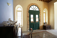Cyprus Entrance hall of antique Mediterranean town house