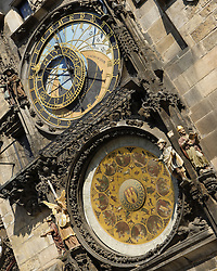 An astronomical clock is a clock with special mechanisms and dials to display astronomical information, such as the relative positions of the sun, moon, zodiacal constellations, and sometimes major planets..