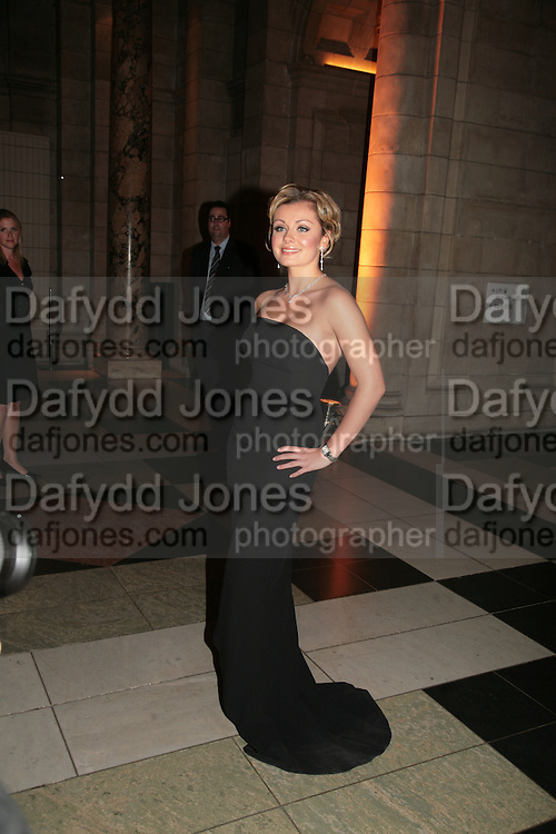 KATHERINE JENKINS, Montblanc and Katherine Jenkins celebrate The launch of Montblanc's First Fine Jewellery Collectgion. V. & A. London. 24 April 2007.  -DO NOT ARCHIVE-© Copyright Photograph by Dafydd Jones. 248 Clapham Rd. London SW9 0PZ. Tel 0207 820 0771. www.dafjones.com.