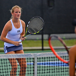 During the send round of the Sun Belt Tennis Tournament at the City Park Tennis Center on Thursday, April 21, 2016. Photo by: Derick E. Hingle for Sun Belt