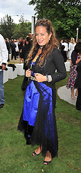JADE JAGGER at the annual Serpentine Gallery Summer Party sponsored by Canvas TV  the new global arts TV network, held at the Serpentine Gallery, Kensington Gardens, London on 9th July 2009.